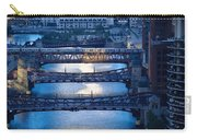 Chicago River First Light Carry-all Pouch
