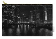 Chicago River Night Skyline Carry-all Pouch