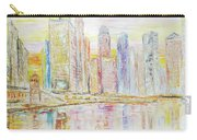 Chicago River Skyline Carry-all Pouch