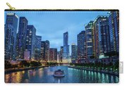 Chicago River Sunset Carry-all Pouch