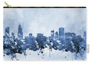 Chicago Skyline-blue 2 Carry-all Pouch