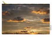 Chicago Skyline Sunset Carry-all Pouch