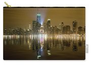 Chicago Skyline With Lindbergh Beacon On Palmolive Building Carry-all Pouch