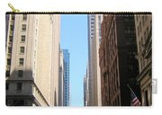Chicago Street With Flags Carry-all Pouch