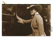 Chicago Suffragette Marching Costume Carry-all Pouch by Padre Art