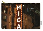 Chicago Theater At Night Carry-all Pouch
