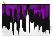 Chicago Violet Vertical  Carry-all Pouch