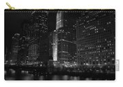 Chicago Wacker Drive Night Carry-all Pouch