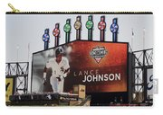 Chicago White Sox Lance Johnson Scoreboard Carry-all Pouch