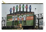 Chicago White Sox Scoreboard Thank You 12 22 44 3 Carry-all Pouch