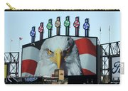 Chicago White Sox Usa Eagle Scoreboard Carry-all Pouch