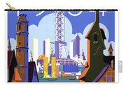 Chicago, World Fair, Vintage Travel Poster Carry-all Pouch