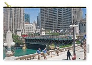 Chicago's Dusable Bridge On N. Michigan Avenue Carry-all Pouch