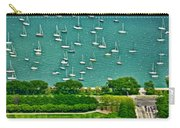 Chicago's Dusable Harbor  Carry-all Pouch