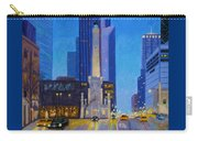Chicago's Water Tower At Dusk Carry-all Pouch