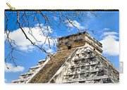 Chichen Itza And Tree Carry-all Pouch