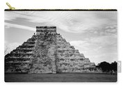 Chichen Itza B-w Carry-all Pouch