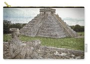 Chichen Itza Draw-like Carry-all Pouch