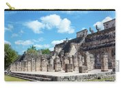 Chichen Itza Temple Of The Warriors Carry-all Pouch