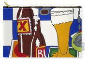 Chichis Y Cervesas Carry-all Pouch by Rojax Art