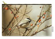 Chickadee 2 Of 2 Carry-all Pouch