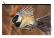 Chickadee Blurrrr Carry-all Pouch