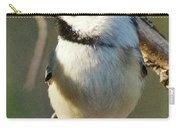 Chickadee Enjoying The Sun Carry-all Pouch