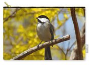 Chickadee In Spring Carry-all Pouch