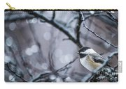 Chickadee Rain Carry-all Pouch