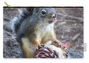 Chickaree Stripping A Pine Cone - John Muir Trail Carry-all Pouch