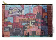 Chickasaw Ballpark Mosaic Wall Carry-all Pouch