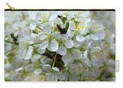 Chickasaw Plum Blooms Carry-all Pouch