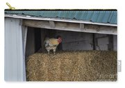 Chicken In Barn Carry-all Pouch