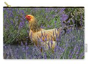 Chicken In The Lavender Carry-all Pouch
