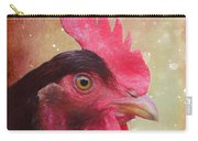 Chicken Portrait - Painting Carry-all Pouch