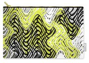 Chicken Scratch Abstract Carry-all Pouch