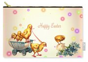 Chicks And Eggs - Happy Easter Carry-all Pouch