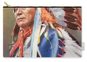 Chief Hollow Horn Bear Carry-all Pouch by American School