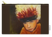 Chief Wannabee #2, Native American Indian Child   Carry-all Pouch