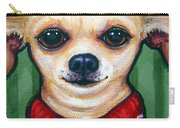 Chihuahua In Red Sweater - Boss Dog Carry-all Pouch
