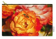 Chihuly Rose With Bee Carry-all Pouch