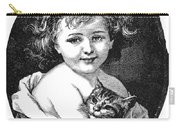 Child & Pet, 19th Century Carry-all Pouch