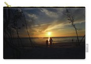 Child And Grandmother At Ft Desoto Carry-all Pouch