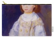 Child In A White Dress Lucie Berard 1883 Carry-all Pouch