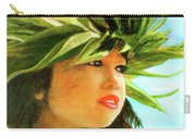Child Keiki In Hawaiian No# 84 Carry-all Pouch