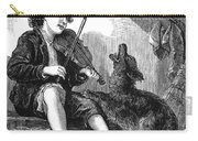 Child Playing Violin Carry-all Pouch