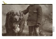 Child With Dog, C1885 Carry-all Pouch