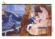 Children Afternoon At Wargemont Marguerite 1884 Carry-all Pouch