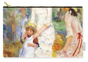 Children On The Seashore 1883 Carry-all Pouch