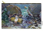 Children On The Shore. Javea Carry-all Pouch